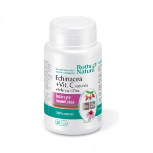 ECHINACEA+vitamina.C, seleniu şi zinc