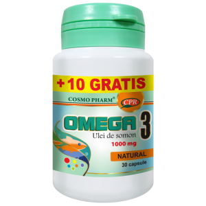 OMEGA 3 ULEI DE SOMON 30+10