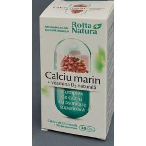 CALCIU MARIN + VIT. D2 NATURALA
