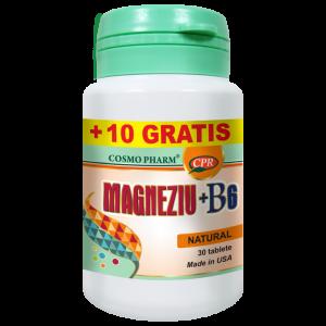 MAGNEZIU + B6 30+10