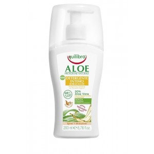 ALOE Detergente Intimo Idratante, Solutie Curatare Pentru Igiena Intima, Hidratanta,  Equilibra, Flacon 200 ml