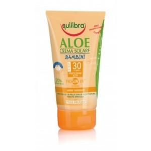 Aloe Cremă Protecție Solară SPF 30 pentru copii cu ProSun-UV® complex