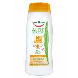 Aloe Cremă Protecție Solară SPF 20 cu  PROSUN-UV® complex