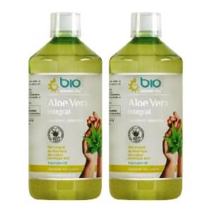 Aloe Vera Integral, BioElemente, 2 Litri ( 40 zile) - Pachet 2x1L