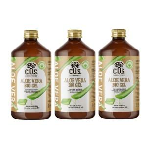 Aloe Vera Bio Gel, Supliment natural pentru revitalizarea şi regenerarea întregului organism, C.O.S. Laboratories, 3 Litri
