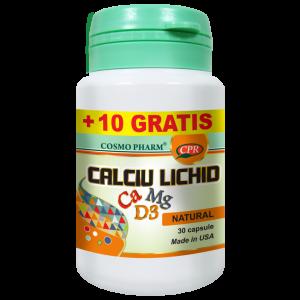 CALCIU LICHID 30 + 10