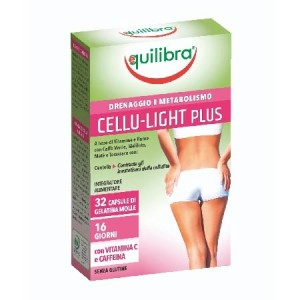 CELLU -  LIGHT PLUS, Supliment anticelulitic, EQUILIBRA, 40 Capsule