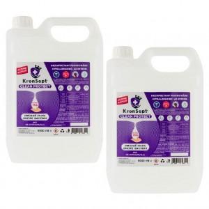 Dezinfectant pentru mâini, KronSept - Clean Protect, Pachet 2 Canistre 5000ml