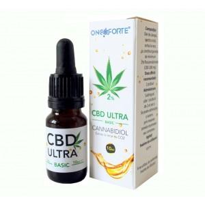 Oncoforte CBD ULTRA Basic 2%, Ulei de Cânepă cu cannabidiol 2%