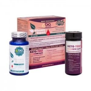 Glicemic Suport + KETO-TEST Gratuit, Pachet promoțional
