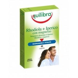 RHODIOLA + IPERICO con Magnesio  - bună dispoziție și somn liniștit