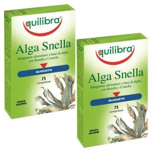 ALGA  SNELLA, Pachet 2 bucăți, Supliment natural pentru slăbire cu alge brune , EQUILIBRA, 75 Comprimate