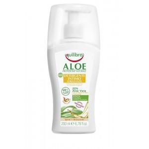 ALOE Detergente Intimo Idratante, Soluție Curățare Pentru Igienă Intimă, Hidratantă,  Equilibra, Flacon 200 ml