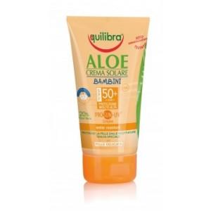 Aloe Cremă Protecție Solară SPF 50+  pentru copii cu ProSun-UV® complex