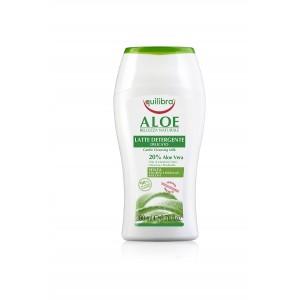ALOE Lapte Delicat Pentru Curățare Ten, EQUILIBRA, 200 ml