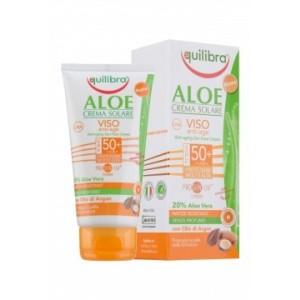 Aloe Cremă Protecție Solară Pentru Față  SPF 50+