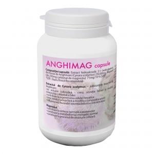 ANGHIMAG 250 mg, supliment alimentar pentru eliminarea ureei si a substantelor azotate toxice, Farmacom, 50 capsule