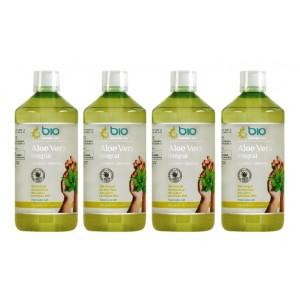 Aloe Vera Integral, BioElemente, 4 Litri ( 80 zile) - Pachet 4x1L