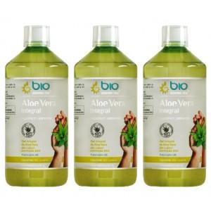 Aloe Vera Integral, BioElemente, 3 Litri ( 60 zile) - Pachet 3x1L