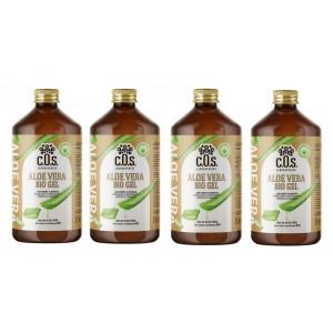 Aloe Vera Bio Gel, Supliment natural pentru revitalizarea şi regenerarea întregului organism, C.O.S. Laboratories, 4 Litri