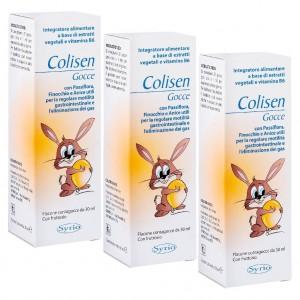 COLISEN, Pachet 3 bucăți, Picături pentru colici intestinale, SYRIO, 30 ml