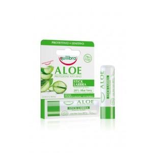ALOE Balsam pentru buze, EQUILIBRA, Protectiv, Calmant, Flacon 5,5 ml