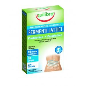 FERMENȚI LACTICI, Supliment alimentar pentru echilibru gastro-intestinal, EQUILIBRA, 10 Pliculețe