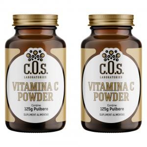 Vitamina C powder 250 gr Pachet 2 flacoane