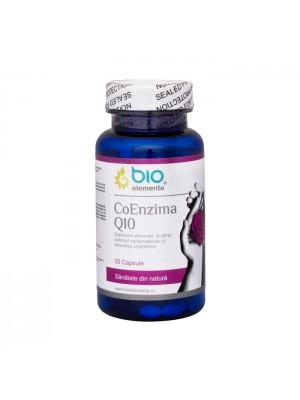 Coenzima Q10, Supliment alimentar pentru susținerea sistemul cardiovascular și detoxifierea organismului, 30 Capsule