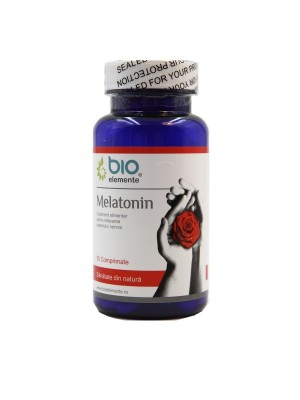 MELATONINA, Supliment alimentar pentru insomnie, bună dispoziţie și stare de bine