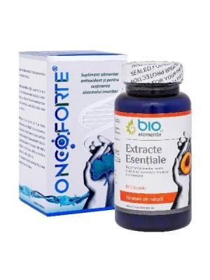 Oncoforte + Extracte Esențiale, Pachet promoțional antitumoral, antioxidant, regenerant